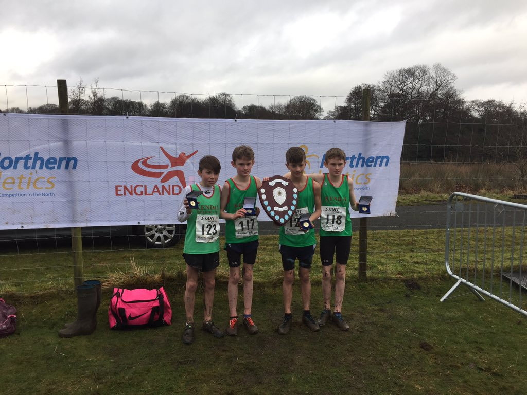 Under 13 boys lift northern cross country title